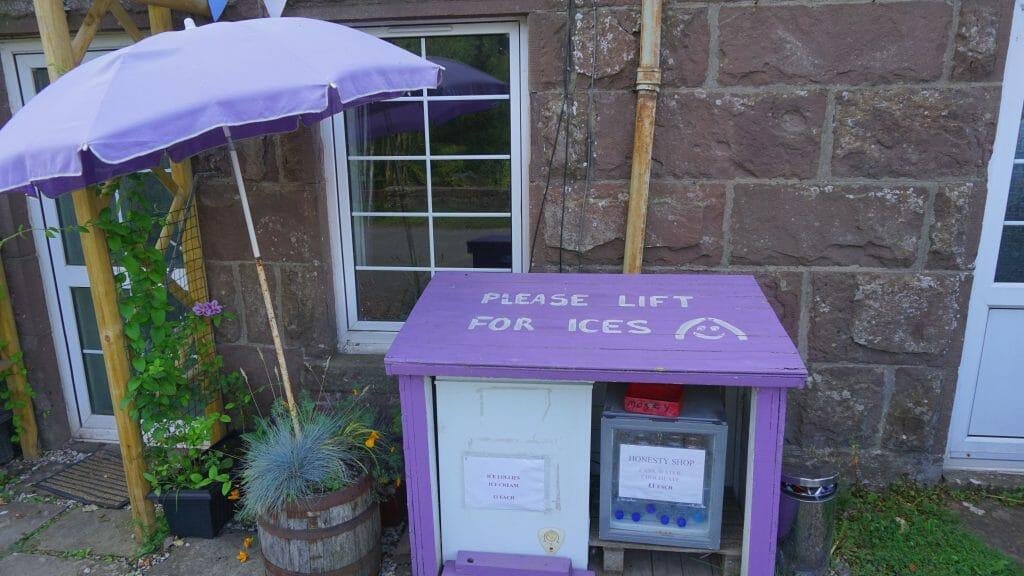 West highland Way honesty box