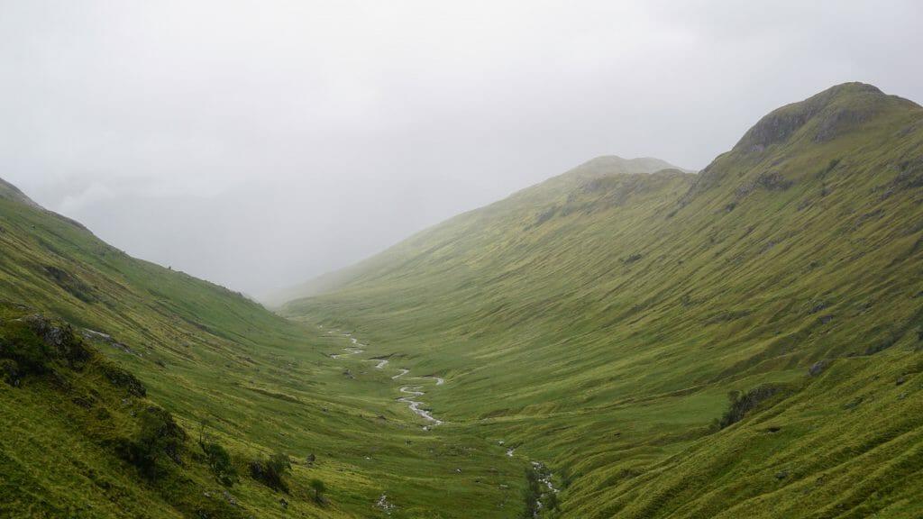 hiking Cape Wrath Trail