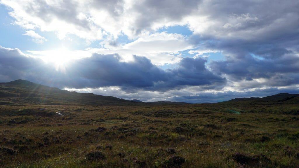 Cape Wrath Trail Loch Fada 1