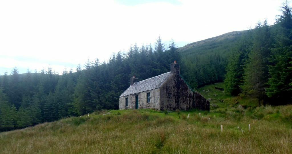 AChuil Bothy Cape Wrath Trail