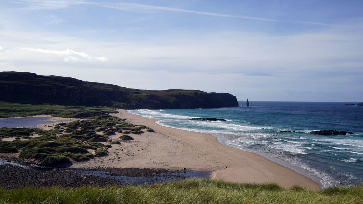 Cape Wrath Sandwood bay 2