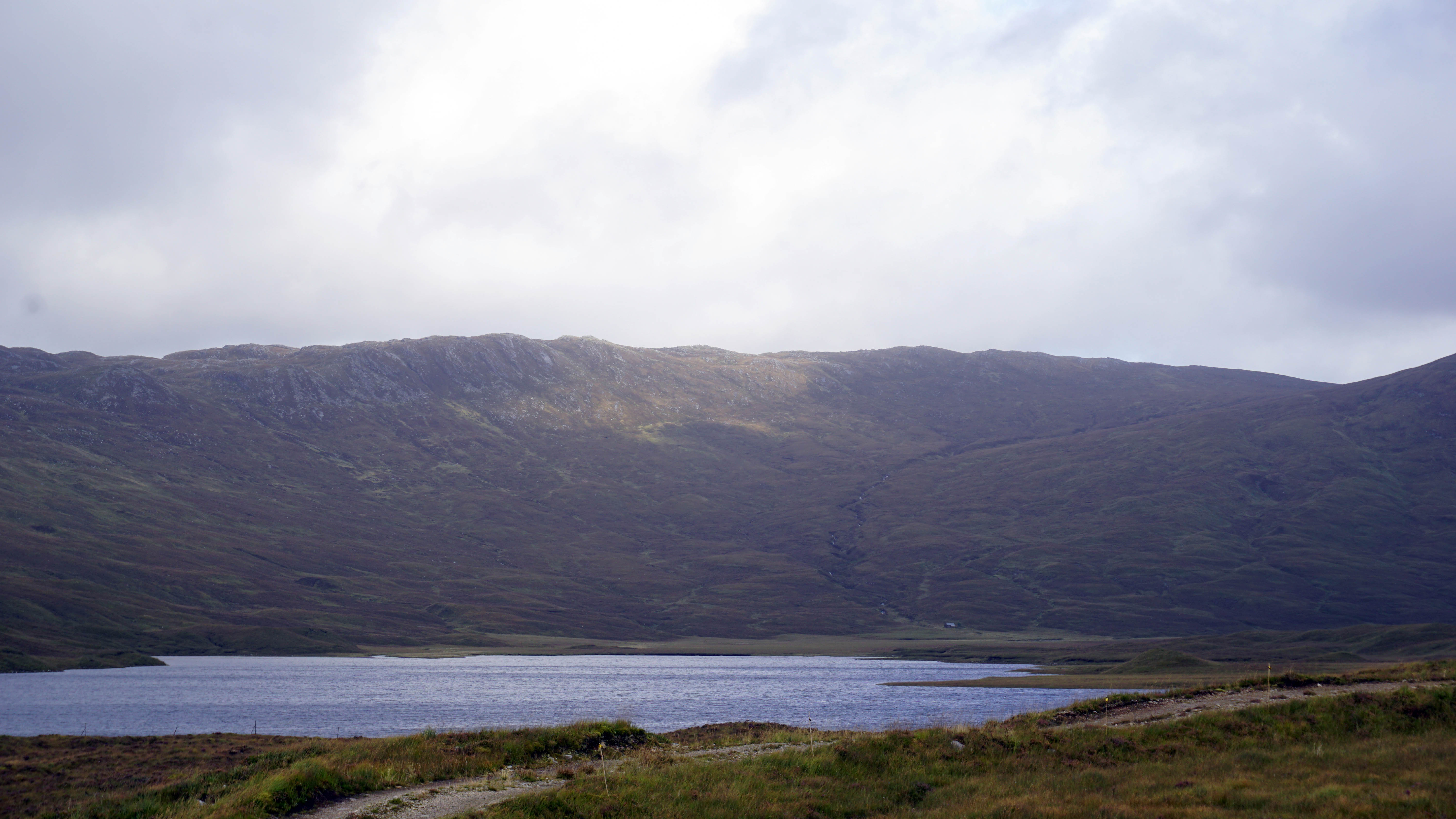 Bothy on loch