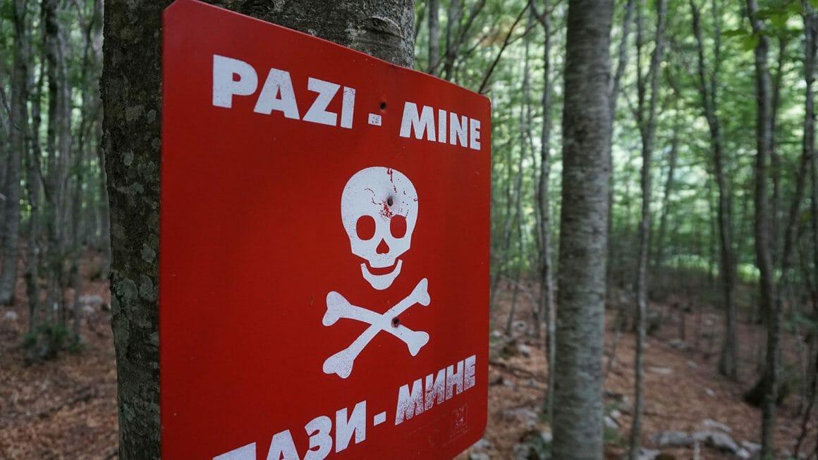 Landmines Prenj