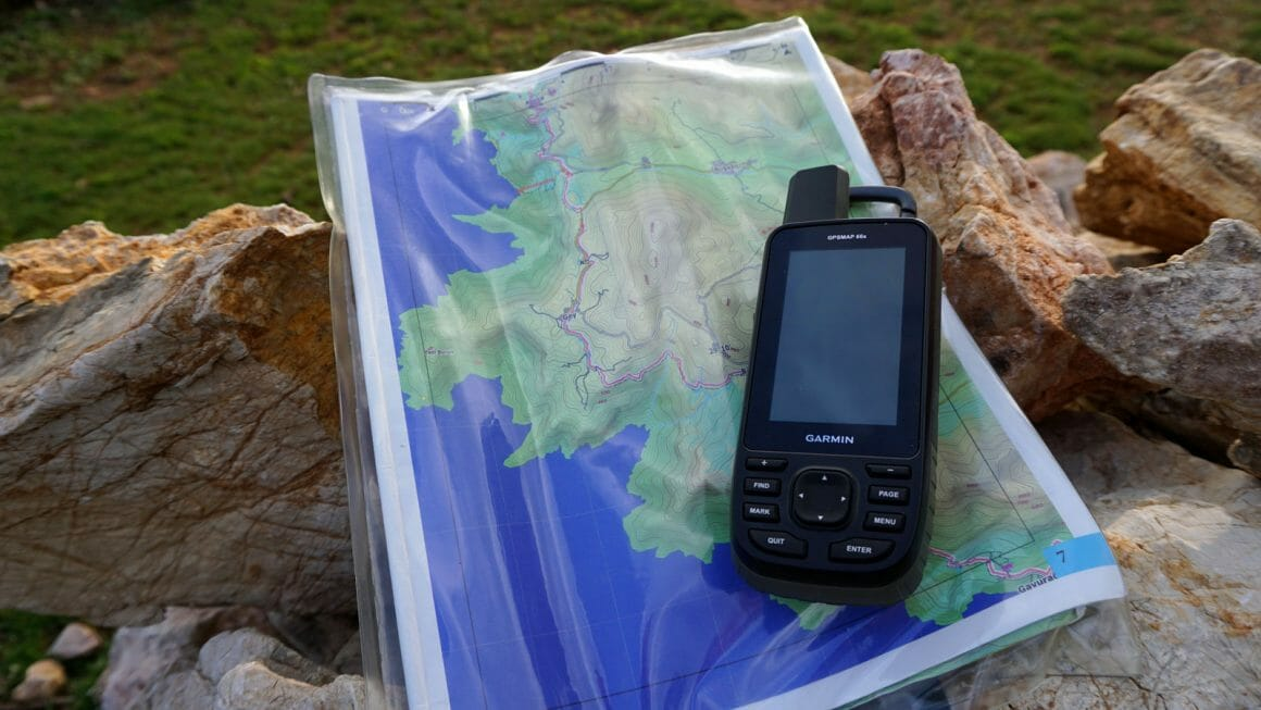 hiking turkey gps